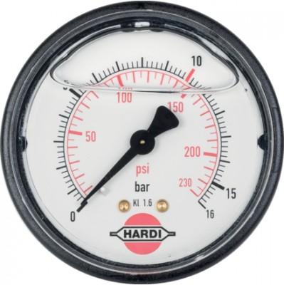 Manometer 283754 16 bar zu Hardi