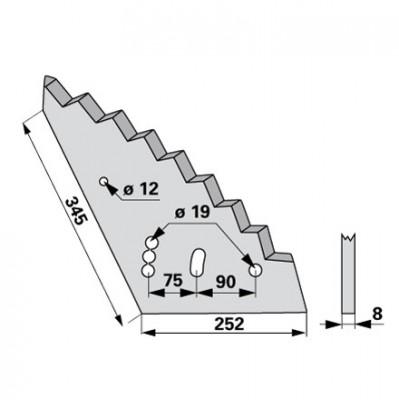 Mischwagen - Mischwagenmesser zu Mayer - Siloking