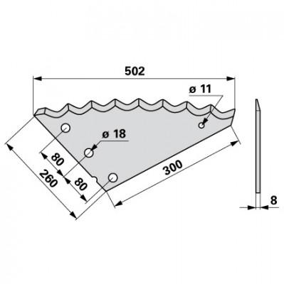 Mischwagen - Mischwagenmesser zu Strautmann