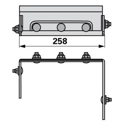 Gegenmesser kpl. EP0044 zu PZ-Vicon