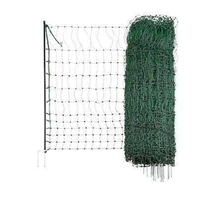 PoultryNet grün nicht elektrifizierbar Doppelspitze Höhe 112 cm Länge 50 m