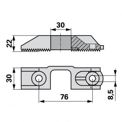 Reform Plastikkopf ohne Stahlfedereinlage B552.43538.0