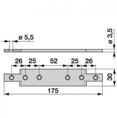 Aebi  Mitnehmerplatte zu  A33 + A35