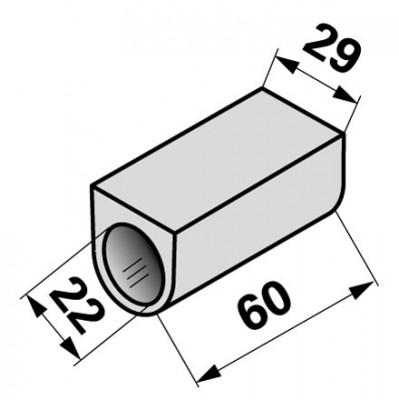 Büchse 5105395700 zu Alfa-Laval Schieber