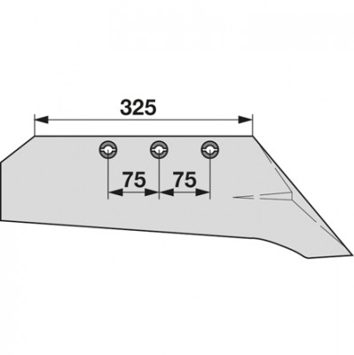 Schnabelschar rechts SS 1080-3 zu Gassner