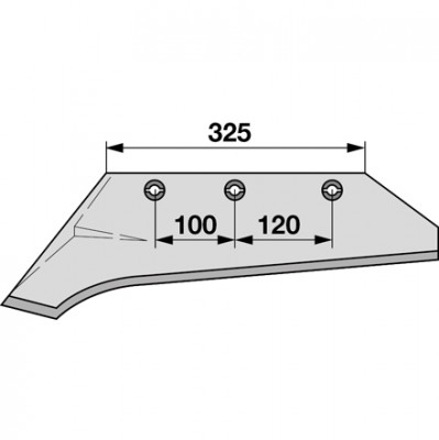 Schnabelschar links SS 1100 zu Gassner