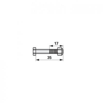 Schraube mit Sicherungsmutter zu AVR