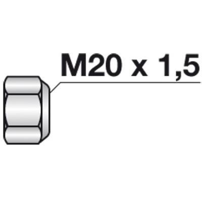Selbstsichernde Mutter konisch M 20x1,5