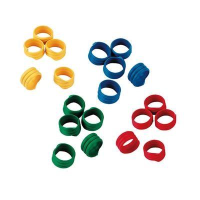 Spiralringe 12 mm gemischt 100 Stück im Pack
