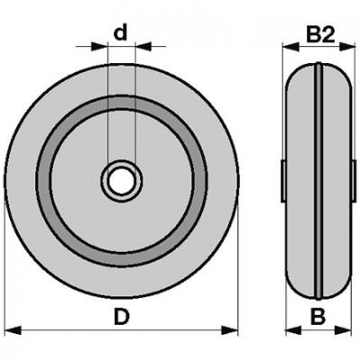 Stahlblechrad