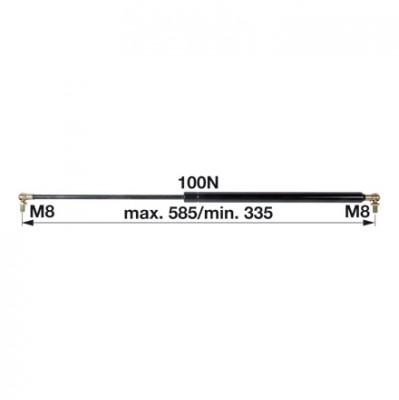Gasdruckfeder 1-99-976-047 zu Steyr