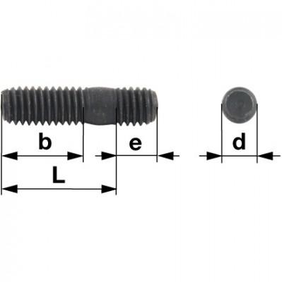 Aebi Stiftschraube M10 x 35 DIN939