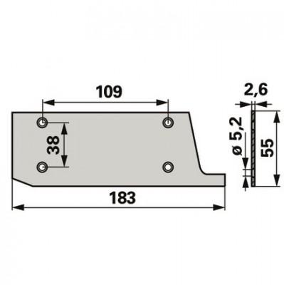 Stockey Schmitz Schuhplatte für Innenschuh 3233229