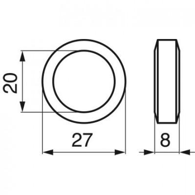 Stopfbuchsendichtung 4 Zoll, 5 Zoll, 6 Zoll