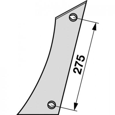 Streichblech-Vorderteil links VST 1170 zu Gassner
