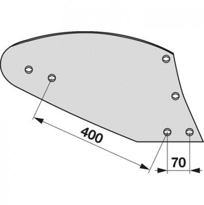 Streichblech rechts HST 1080 zu Gassner