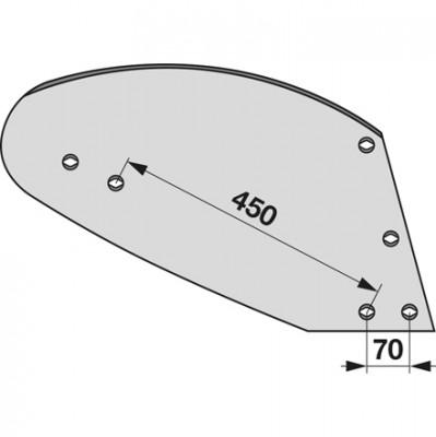 Streichblech rechts HST 1120 zu Gassner