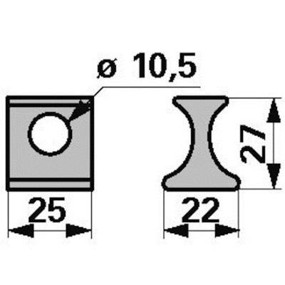 Druckplatte KB3105511 zu Vicon