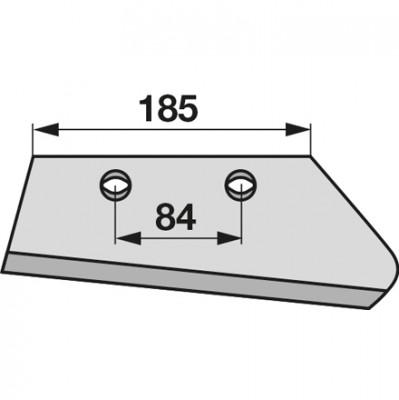 Vorschälerschar rechts 631030, 631102 zu Kuhn, Huard