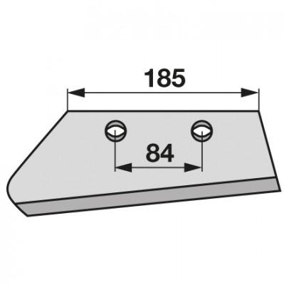 Vorschälerschar links 631031, 631103 zu Kuhn, Huard
