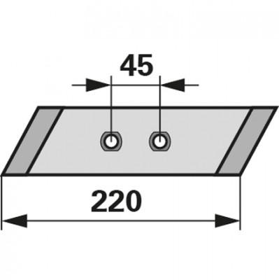 Wechselspitze rechts M 1000 zu Gassner
