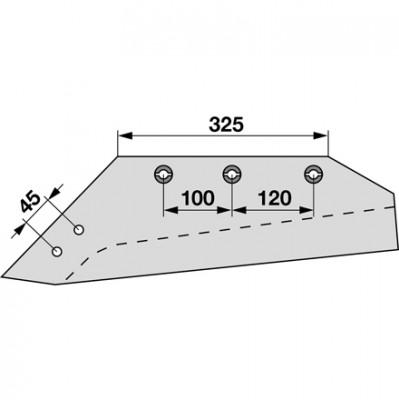 Wechselspitzschar links MSS 11385 zu Gassner