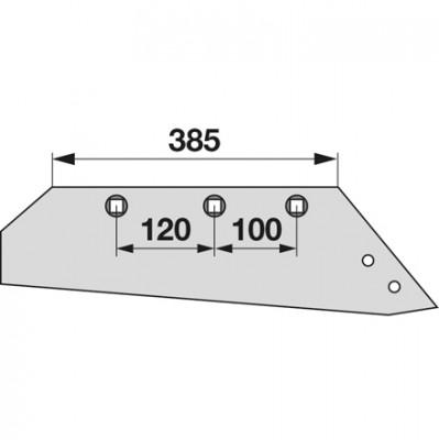 Wechselspitzschar rechts MSS 11386 zu Gassner