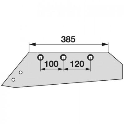 Wechselspitzschar links MSS 11387 zu Gassner