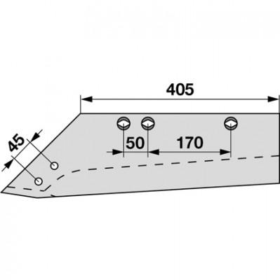 Wechselspitzschar links MSS 1570 zu Gassner
