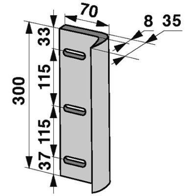 Kolbenmesser 1103.16.03.01 zu Welger