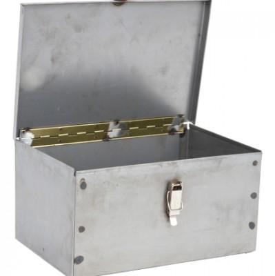 Werkzeugkasten Länge 300 mm aus Metall für Traktor
