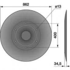 Gleitteller TT20K0 zu Deutz-Fahr Trommelmäher