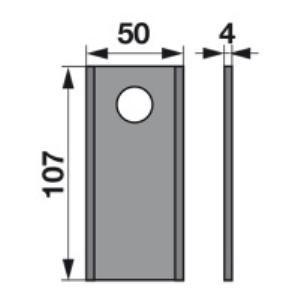 Kreiselmäherklingen VGXD570 zu PZ-Vicon Trommelmäher
