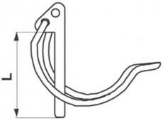 Rübig Rohrklappstecker