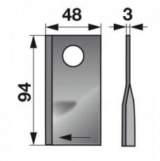 Kreiselmäherklingen rechts 012925 zu Mörtl Scheibenmäher