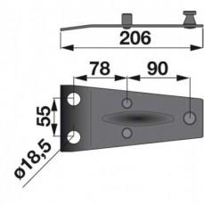Messerhalter 06563514 zu Deutz-Fahr Trommelmäher