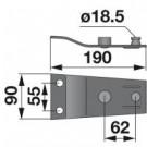 Messerhalter 434.123 zu Pöttinger Trommelmäher