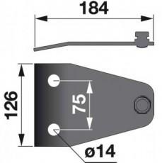 Messerhalter 104372.0 zu Claas Trommelmäher