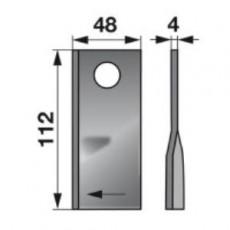 Kreiselmäherklingen rechts 134308 zu Fella Scheibenmäher