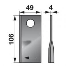 Kreiselmäherklingen rechts 122330 zu Fella Scheibenmäher