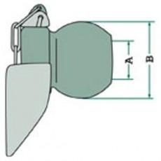 Unterlenker Fangprofil mit Kugel Kat 3 - 2