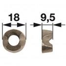 Klemmstück lose Ø 8,5 mm