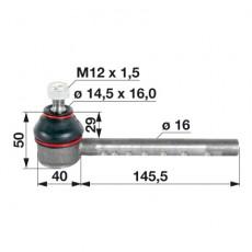Kugelgelenk 1808432M1 zu Massey Ferguson
