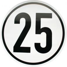 Selbstklebefolie 25 km/h