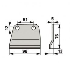 Rasspe Messerhalter RS7510